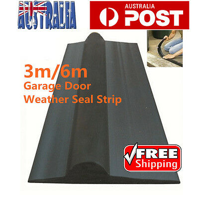 Solid Garage Door Weather Seal Strap Floor Threshold Seal 3m /6m AU Stock