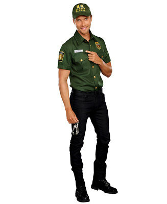 Us Border Patrol Mens Costume - Dreamgirl 10623