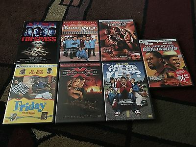 Lot Of 7 Ice Cube Movies, Dvds