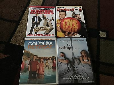 Lot Of 4 Vince Vaughn Movies, Dvds