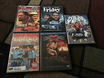 Lot Of 5 Ice Cube Movies, Dvds