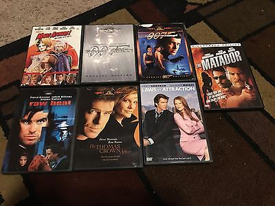 Lot Of 7 Pierce Brosnan Movies, Dvds