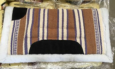 NEW Western Saddle Blanket Beige/White All Items