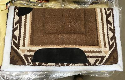 NEW Western Saddle Blanket Brown/Beige All Items