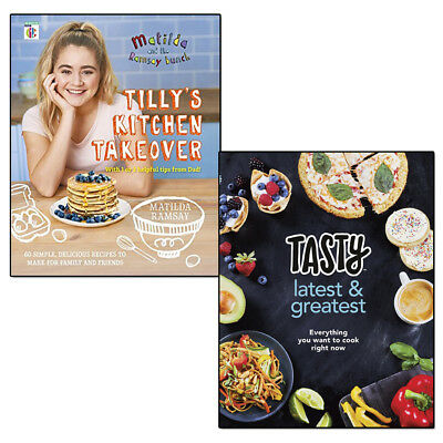 Matilda & The Ramsay Bunch Tilly's Kitchen Takeover and Tasty 2 Books Set Pack