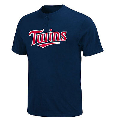 Minnesota Twins 2 Button Officially Licenced MLB T shirt