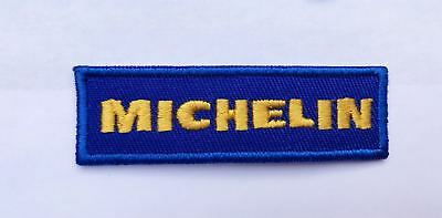 Michelin Embroidered Badge Iron On/Sew On Clothe Jacket Jeans N-150