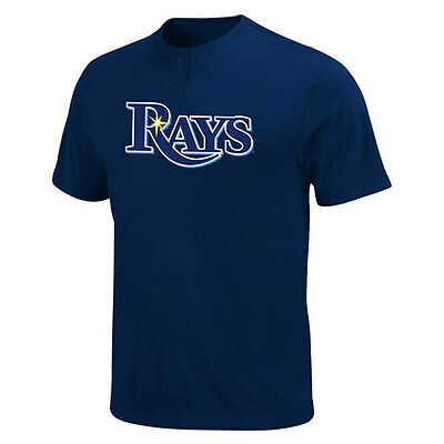 Tampa Bay Rays 2 Button Officially Licenced MLB T shirt + Free Coaster