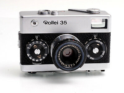 Rollei 35 Made in Germany mit - with Tessar 1:3,5 / 40 mm No.3131363  (FF09674)