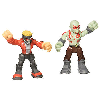 Playskool Heroes Marvel Star-Lord and Drax Figures