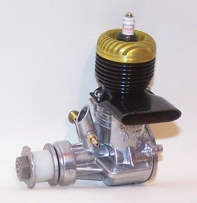 """New, Never Mounted Or Run """"OK"""" Super 60 Gold Head Glow Model Airplane Engine"""