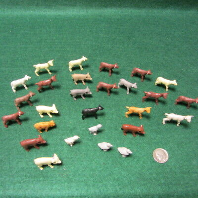 27 Marx Baby Farm Animals from Happi Time Farm Playset