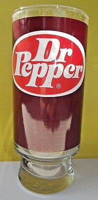 Mint Dr Pepper Drinking Glass From The 70`s