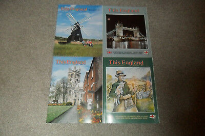 All 4 THIS ENGLAND Magazines From 2001