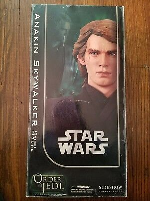 New never open anakin skywalker sideshow collectible order of the jedi