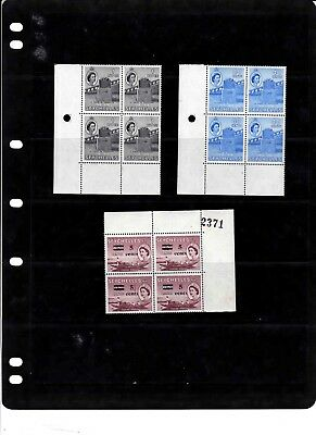 British Colonies Mnh Corner Blocks