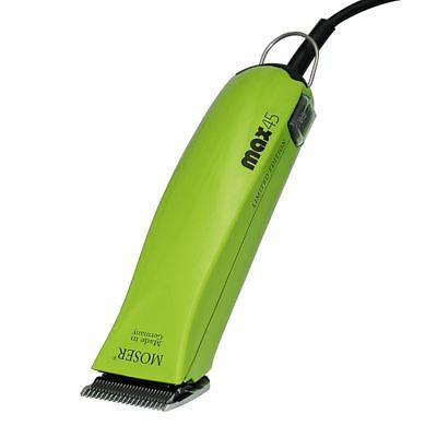 LIMITED EDITION GREEN WAHL Moser Max 45 Two Speed Professional Dog Pet Clipper