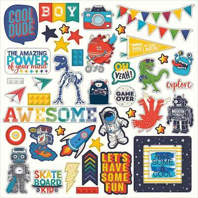 """My Imagination Stickers 12""""X12"""" Elements 814948023881"""