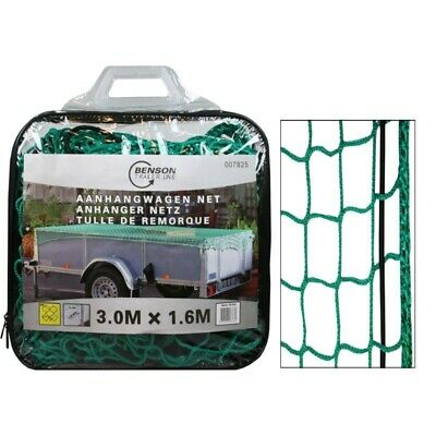 Trailer Net 3 x 1,6m with Rubber Band Stretchy Container Net Load Securing Net