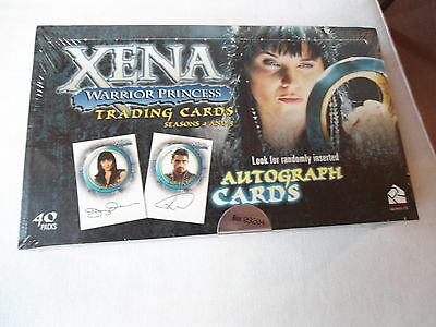 XENA (LUCY LAWLESS) Tradingcard Box SEASON 4 & 5  lim. 10.000 ^^^^^^ OVP