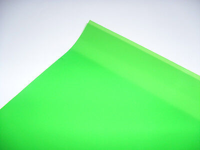 121 FERN GREEN Heat Proof Coloured Transparent Acetate Sheet Crafts Lighting GEL