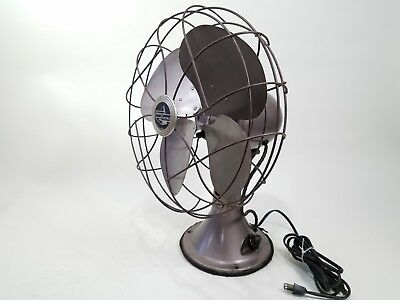 Restored Emerson 77646-SU Table Fan 4 Blade University of Iowa History Hawkeyes