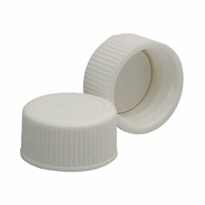 144 pack Wheaton 239279 White Polypropylene Screw Cap, 22-400 Size (Pack of 144)