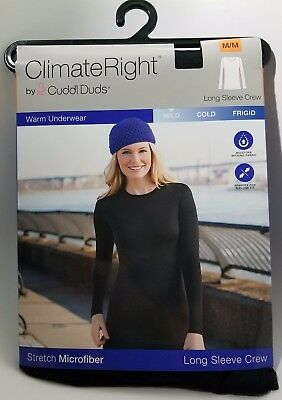 Climate Right Stretch Microfiber Long Sleeve Crew (multiple sizes)