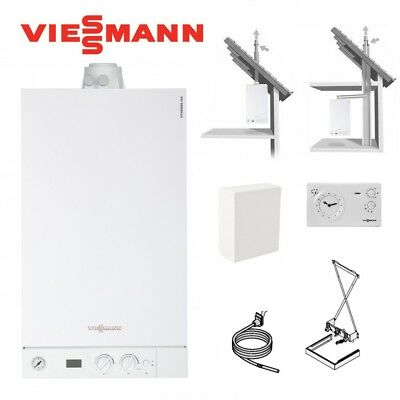 viessmann brennwert gastherme vitodens 300 w 19 kw speicher 100 w cvb 300 liter eur. Black Bedroom Furniture Sets. Home Design Ideas