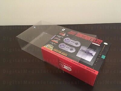 Box Protector for SNES and NES CLASSIC EDITION MINI (Display Boxes)