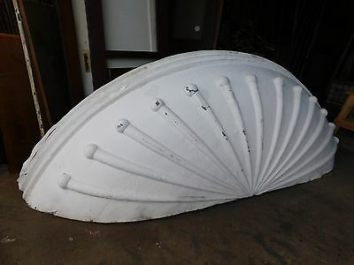 Antique Victorian Style Curved Bay Window Soffit - C. 1895 Architectural Salvage
