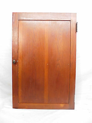 Antique Craftsman Style Cabinet Door - C. 1915 Oak Architectural Salvage