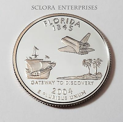 2004 S Florida *proof* State Quarter   **free Shipping**
