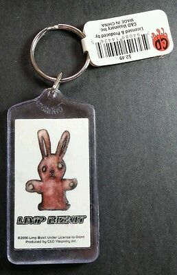 As-Is Limp Bizkit Bunny Group Band Photo '06 Vintage Music Key Chain Keychain