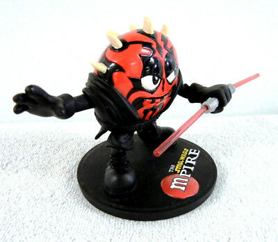 DARTH MAUL Promo Cross Over : Limited Ed. Red M&M Resin Figure with Sith Tattoos