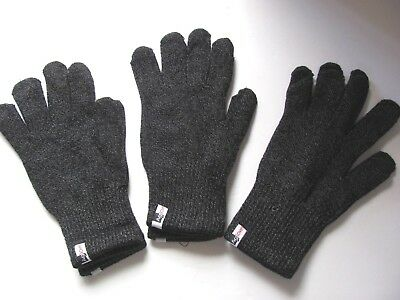 3 Pairs of Agloves Sport touchscreen gloves, iPhone gloves texting gloves, Med/L