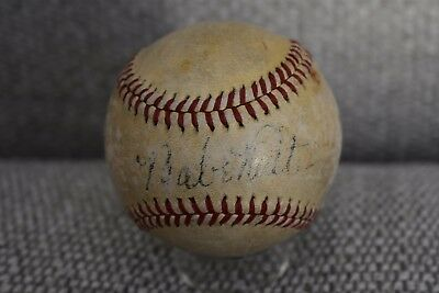 Babe Ruth NY Yankees Signed Baseball Autograph PSA DNA Beckett Authentic OAL MLB