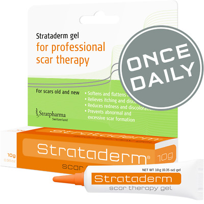 Strataderm 50g Gel - Professional Scar Therapy Gel for Old and New Scars