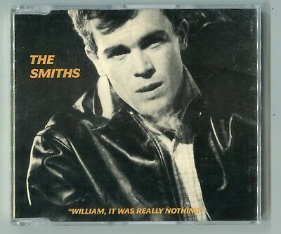The Smiths Maxi-CD WILLIAM IT WAS REALLY NOTHING 1988 UK-3-track RTT 166CD Indie
