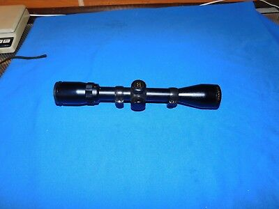 Bushnell Banner 3-9 X 40 Black Matte, Multi-X, 713948, Rifle Scope with rings