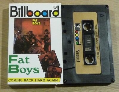 Cassette K7 Tape A Made in Singapour Billboard FAT BOYS Coming Back Hard Again