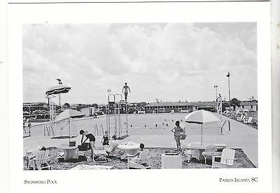 "*Postcard-""Swimming Pool""(Military & Dependents/Guests) *Parris Island SC (#147"