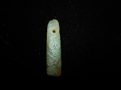 Authentic Pre-Columbian Jade Pendant Nicoya Costa Rica