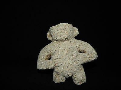 Pre-Columbian Female Fertility Stone Carving, Atlantic Watershed, Authentic