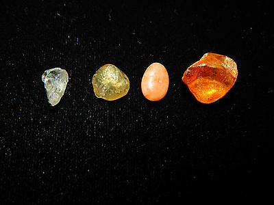 Pre-Columbian Collection of Amber and Stone, Very Rare, Costa Rica