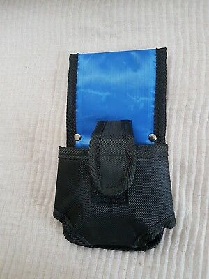 Naylon Tape Measure Holder Hostler Pouch Pocket with Velcro Fasten 4 Work Belt