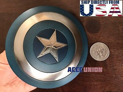 1/6 Captain America Shield 3.0 Metal Material Buckle Hand For Hot Toys U.S.A.