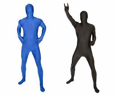 Rubies Mens 2nd Skin Suit Full Body Stretch Jumpsuit Costume Morph - Large