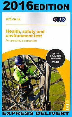 NEW- 2016- CSCS TEST BOOK for OPERATIVES AND SPECIALISTS