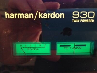 Harmon/kardon Model 930 Twin Powered Vintage Receiver
